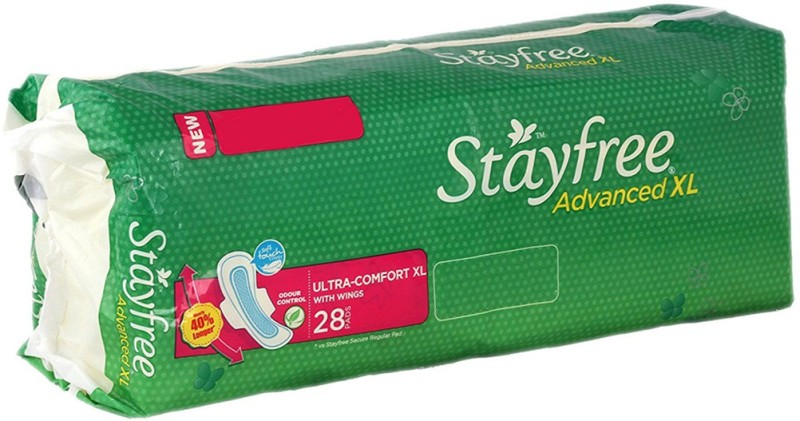 Stayfree Advanced XL Wings Sanitary Pad(Pack of 28)