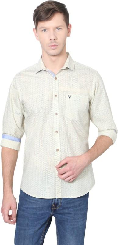 Allen Solly Men Printed Casual Multicolor Shirt