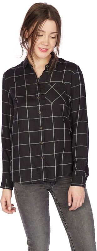 Allen Solly Women Checkered Casual Shirt