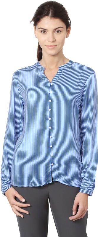 Allen Solly Women Striped Casual Shirt
