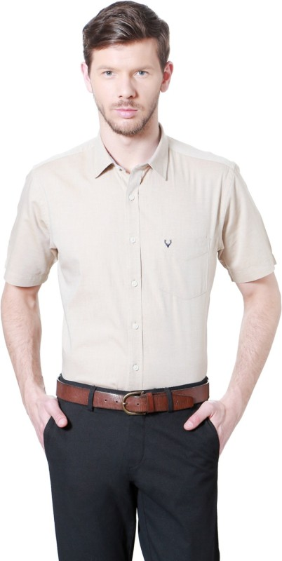 Allen Solly Men Solid Formal Shirt