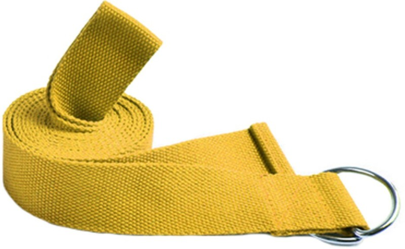 Ipop Retail TBYF Cotton Yoga Strap(Yellow)