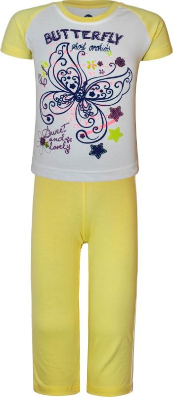 Kothari Girls Yellow Bodysuit