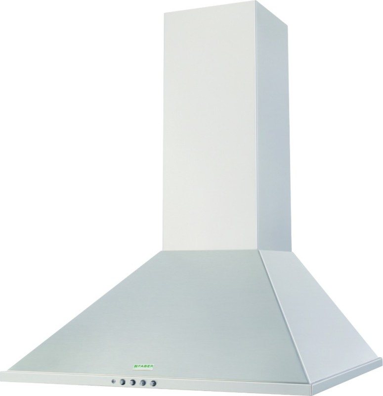 Faber Hood Topaz Sunzi LTW 60 (110.0195.580) Wall Mounted Chimney(Steel 1000)