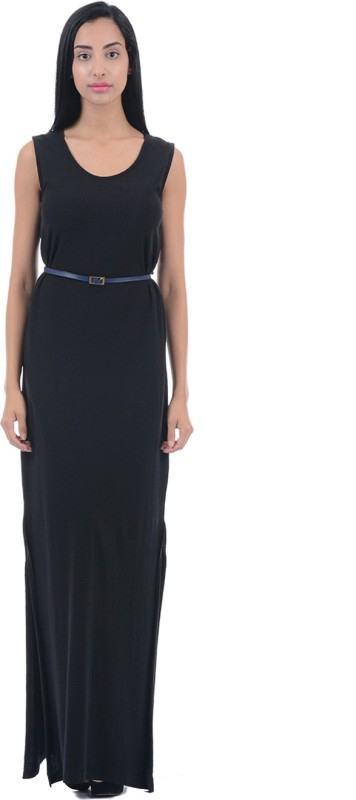 Pepe Jeans Women Maxi Black Dress
