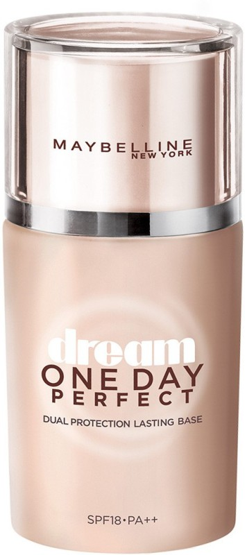 Maybelline Dream One Day Perfect SPF 18 PA++ Primer - 25 ml(Beige)