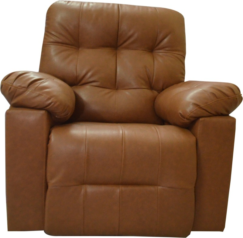 AE DESIGNS Leatherette Manual Recliners(Finish Color - Brown)