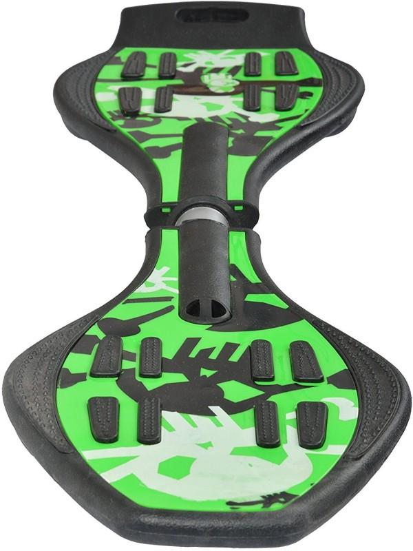 Iris Portable Lightweight 8 inch x 33 inch Skateboard(Green, Pack of 1)