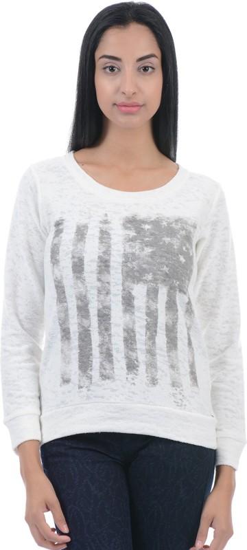 Pepe Jeans Full Sleeve Printed Womens Sweatshirt