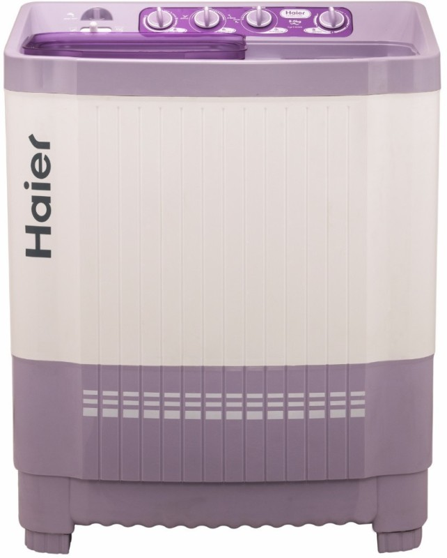 Haier 8 kg Semi Automatic Top Load Washing Machine White,...