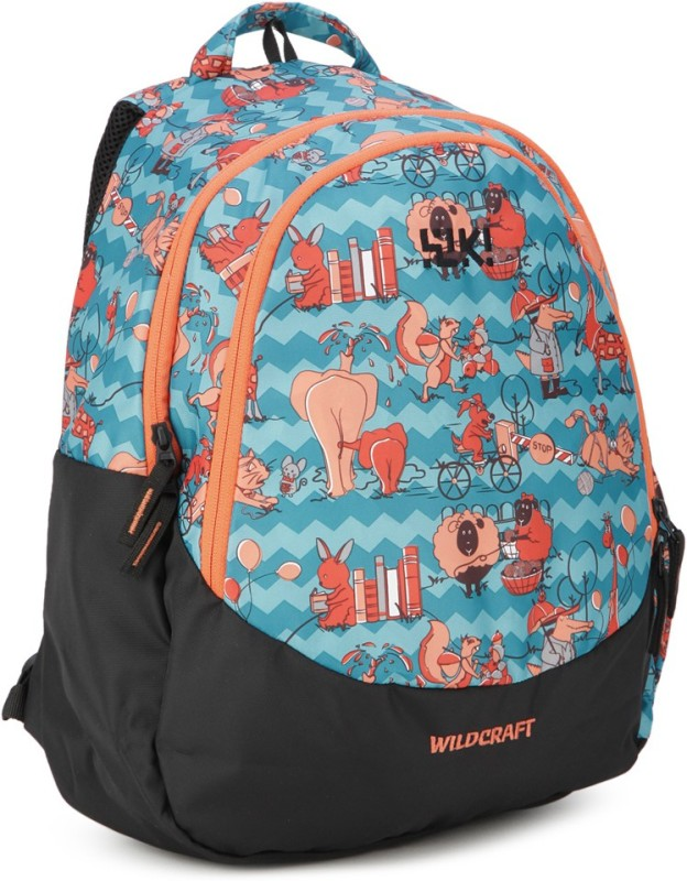 Wildcraft NA 5 KG Backpack(Blue, Orange)