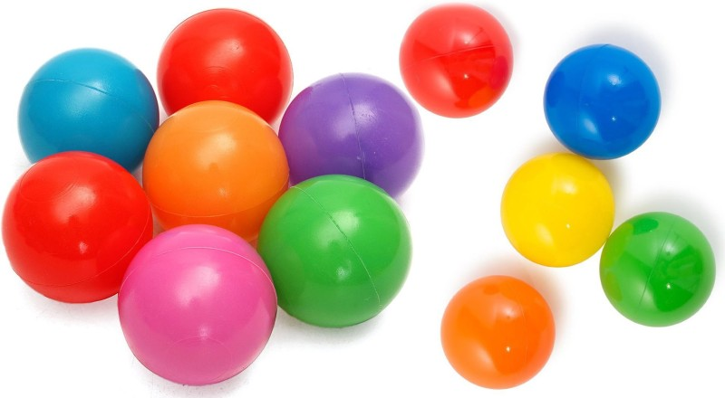 Forever Online Shopping Plastic balls soft 12 Juggling Ball(Pack of 6, Multicolor)