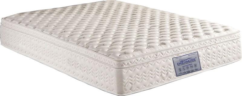 Dreamzee Orthocare Memory Foam Eurotop 5 inch Single High Resilience (HR) Foam Mattress
