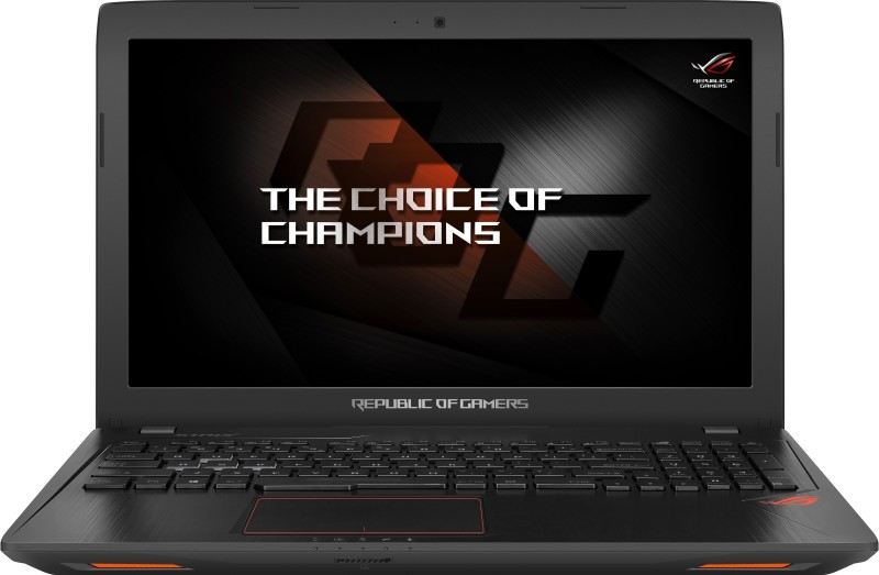 Asus ROG Core i7 7th Gen - (8 GB/1 TB HDD/128 GB SSD/Windows 10 Home/4 GB Graphics) GL553VE-FY168T Gaming Laptop(15.6 inch, Black, 2.5 kg) image