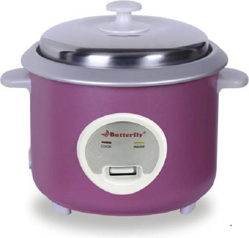 Butterfly IRIS 1.8 L PURPLE Electric Rice Cooker(1.8 L, Purple)