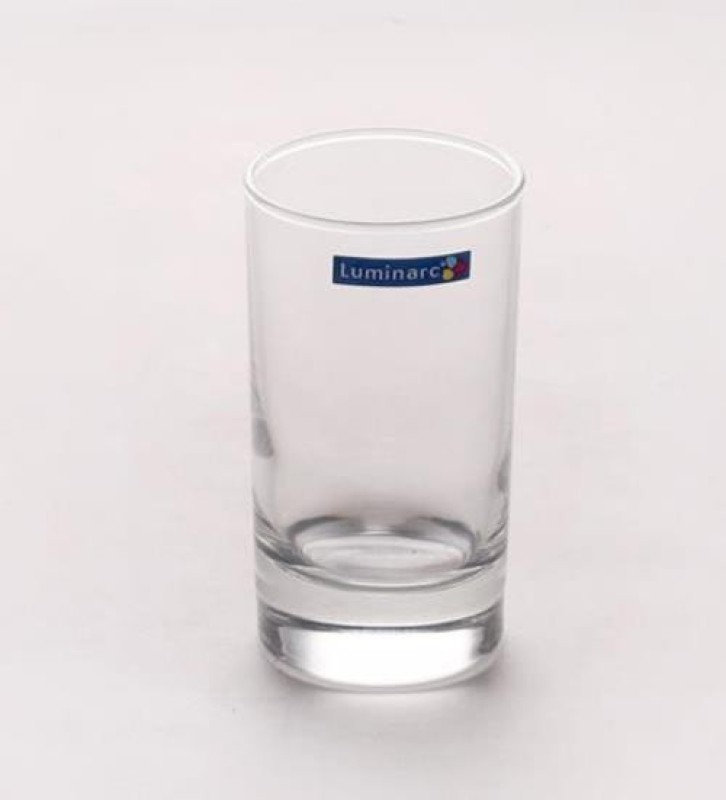 LUMINARC Glass(150 ml, Clear, Pack of 6)