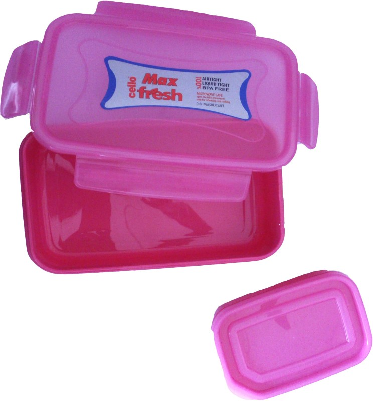 Cello snap lock 2 Containers Lunch Box(600 ml)