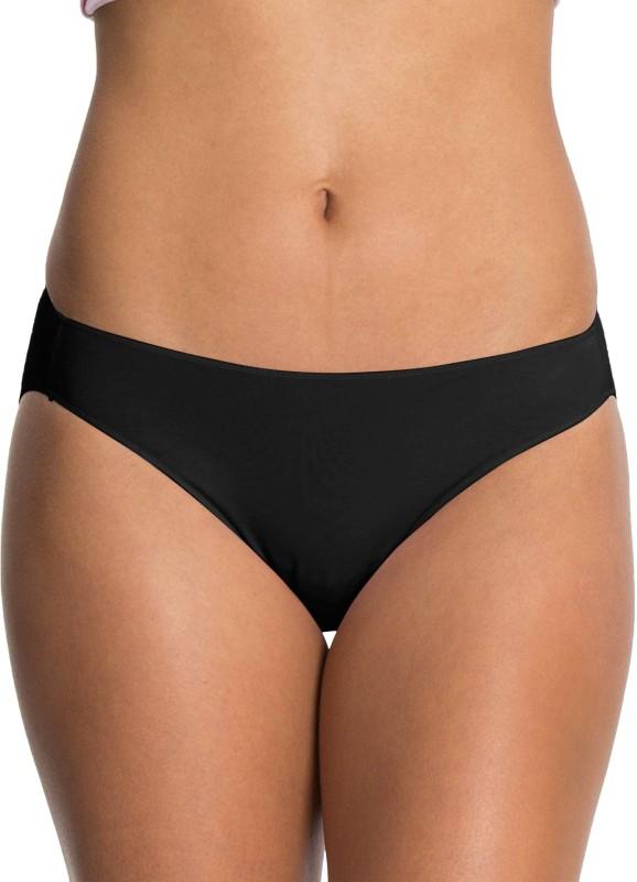 Jockey Womens Bikini Black Panty(Pack of 1)