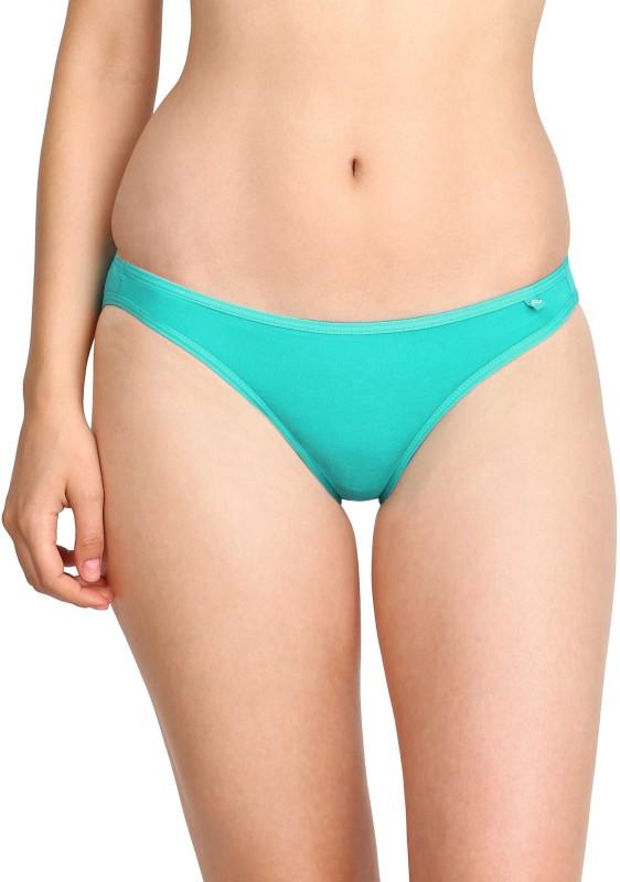 Jockey Womens Bikini Blue Panty(Pack of 1)