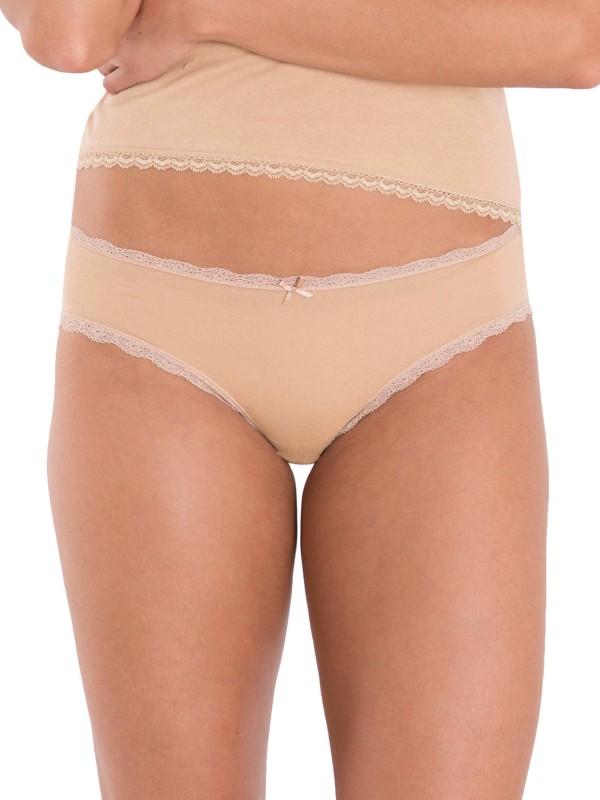 Jockey Womens Bikini Beige Panty(Pack of 2)