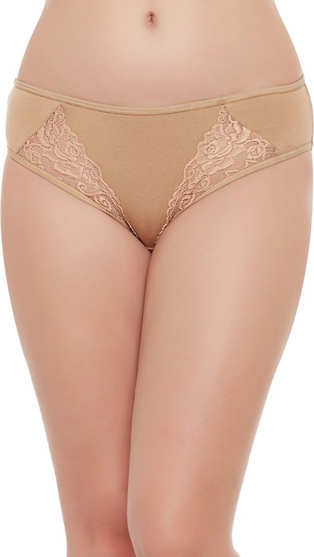 Clovia Womens Bikini Beige Panty(Pack of 1)