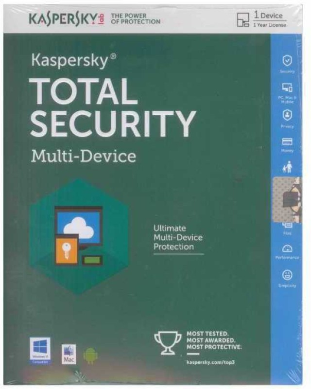 KASPERSKY TOTAL SECURITY 2 PC 3 YEAR