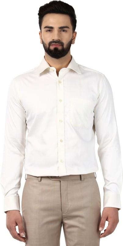 Raymond Men Solid Formal Spread Shirt