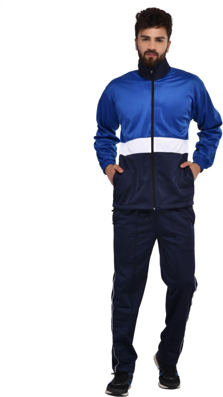 Gag Solid Men & Women Track Suit