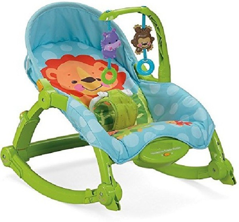 GREEN FROG NEWBORN TO TODDLER PORTABLE ROCKER - GREEN Rocker(Multicolor)