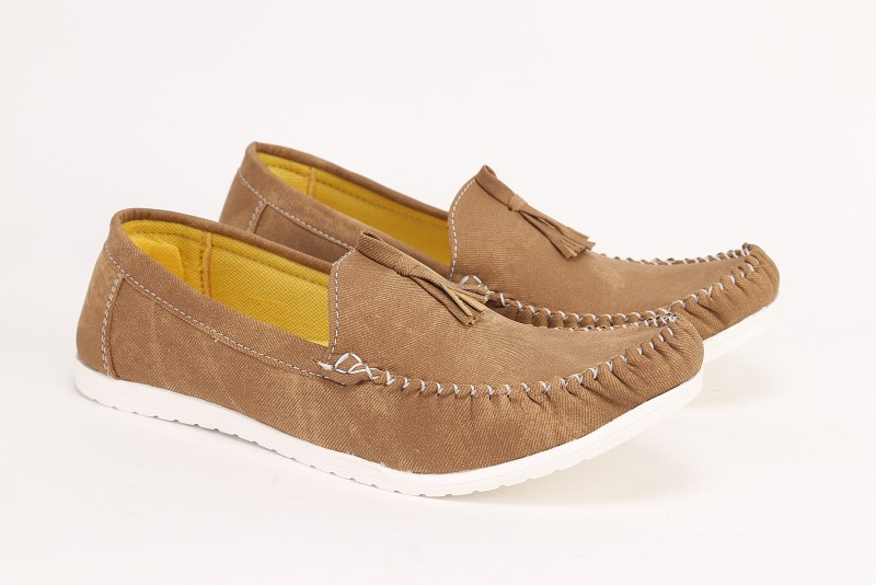 Quarks Casual Loafers(Beige)