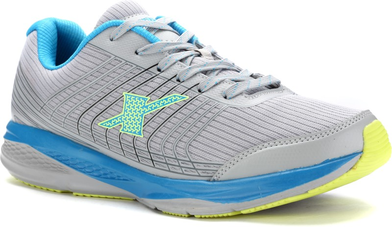 Sparx 9017 Running Shoes(Grey, Blue)
