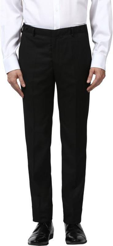 Park Avenue Slim Fit Men Black Trousers