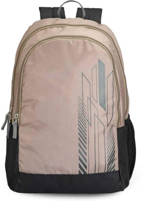 Aristocrat Zing 27 L Backpack(Beige)