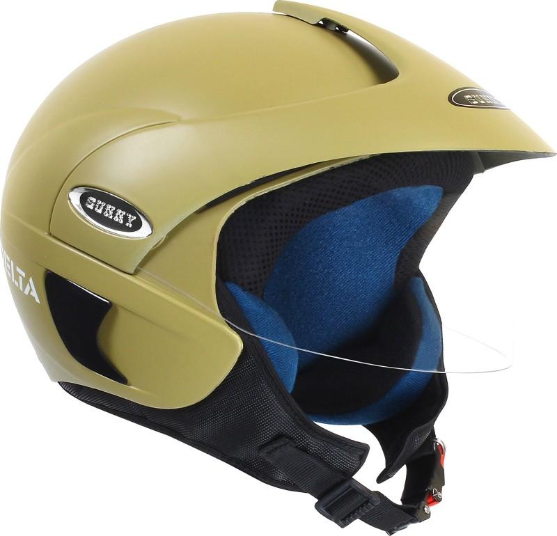 stranger sunny delta Motorbike Helmet(Yellow)