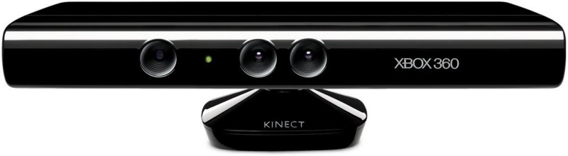 Microsoft XBox 360 Kinect Sensor with kinect sports ultimate collection Motion Controller(Black, For Xbox)
