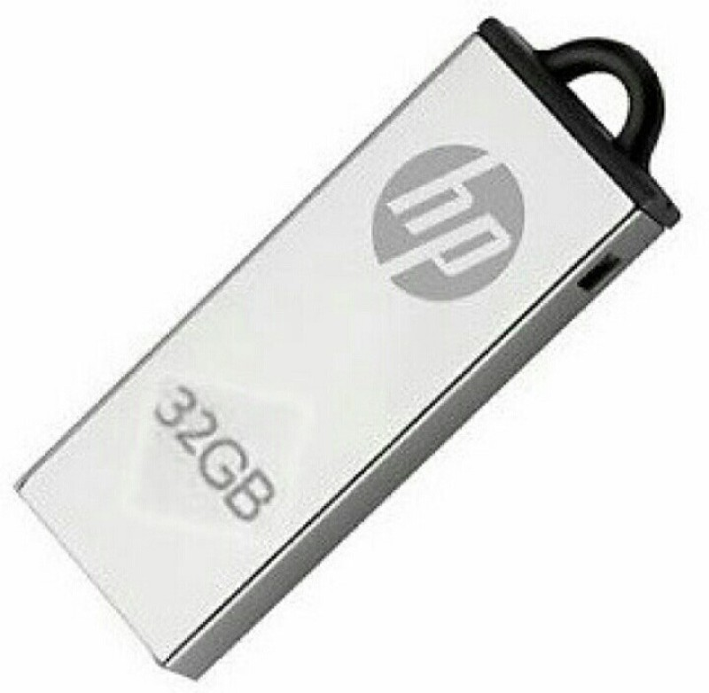 HP 220w 32 GB Pen Drive(Silver, Grey)