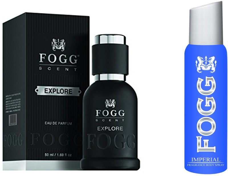 Fogg COMBO PACK OF IMPERIAL + EXPLORE 50ml PERFUME Perfume  -  240 ml(For Men)
