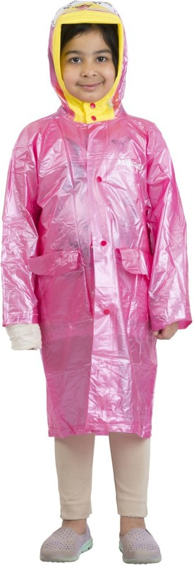 Burdy Solid Girls Raincoat
