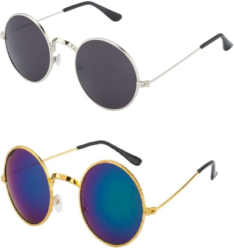 678c0b9f43 below 500 rupees Online Shopping India Amour Propre Aviator Sunglasses  Black Blue