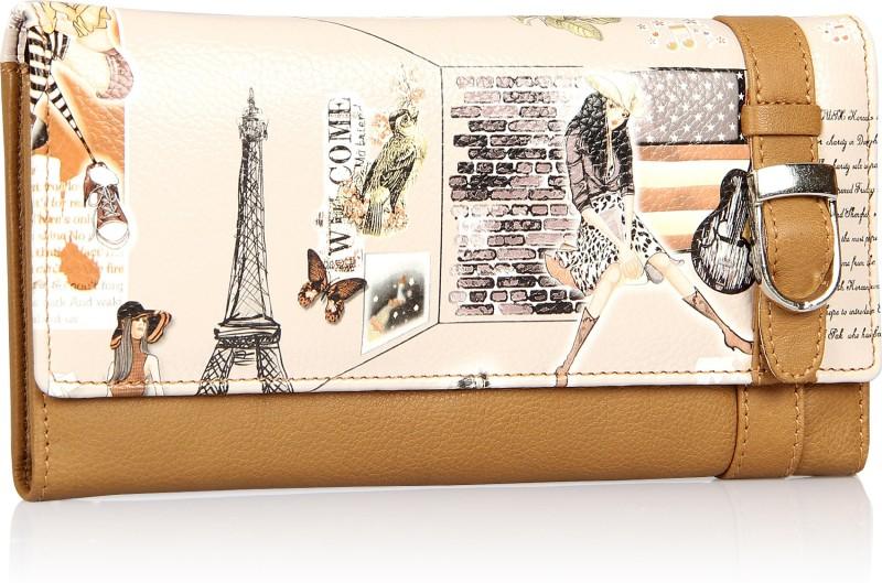 Leather Zentrum Women Multicolor Genuine Leather Wallet(7 Card Slots)
