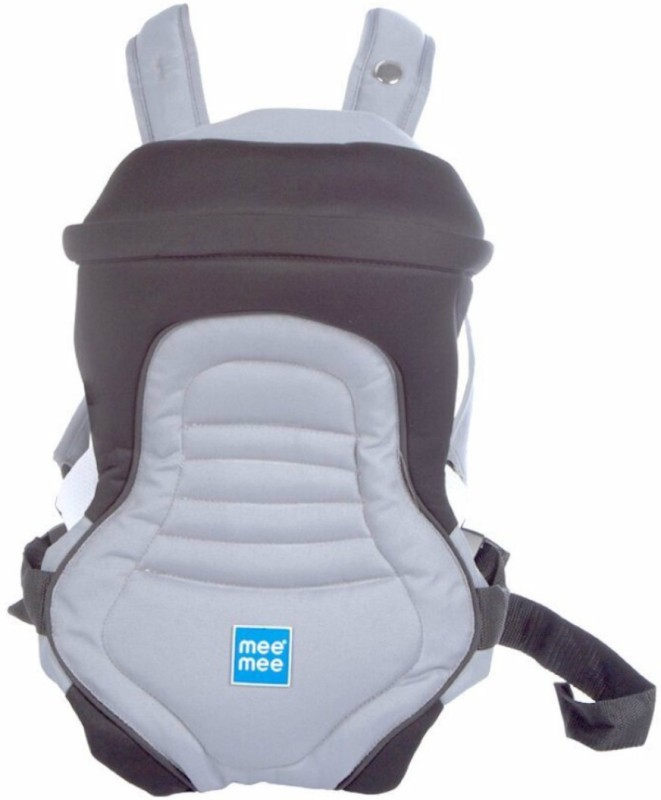 Meemee 6 Position Premium Baby Carrier(Black, Front Carry facing in)