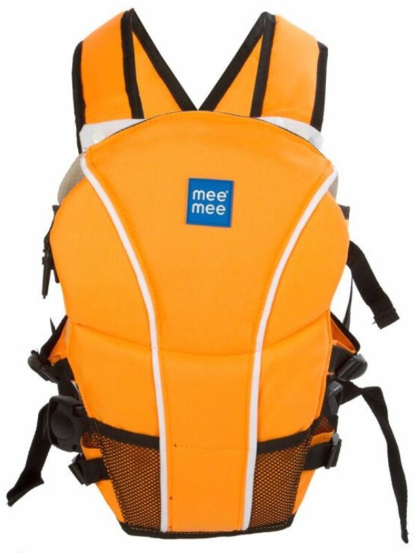 Meemee Cuddle Up Baby Carrier(Orange, Front Carry facing in)