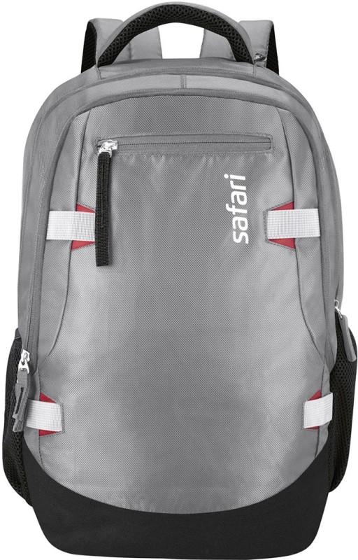 Safari Brisk 40 L Medium Laptop Backpack(Grey)