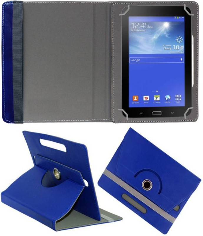Fastway Book Cover for BSNL Penta Legend 73AAQ1 Quad Core,8 GB 7 inch(Blue, Cases with Holder)