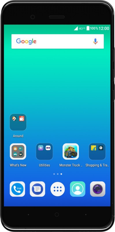 Yu Yunique 2 (Coal Black, 16 GB) Now ₹5499