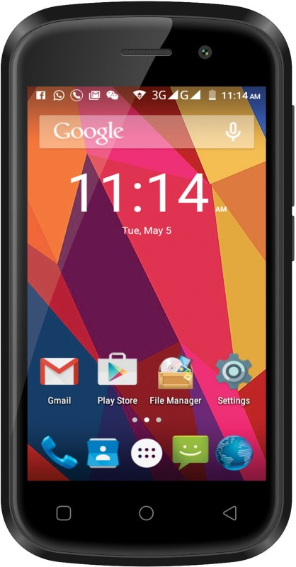 M-tech ACE 4G (Black, 8 GB)(1 GB RAM)
