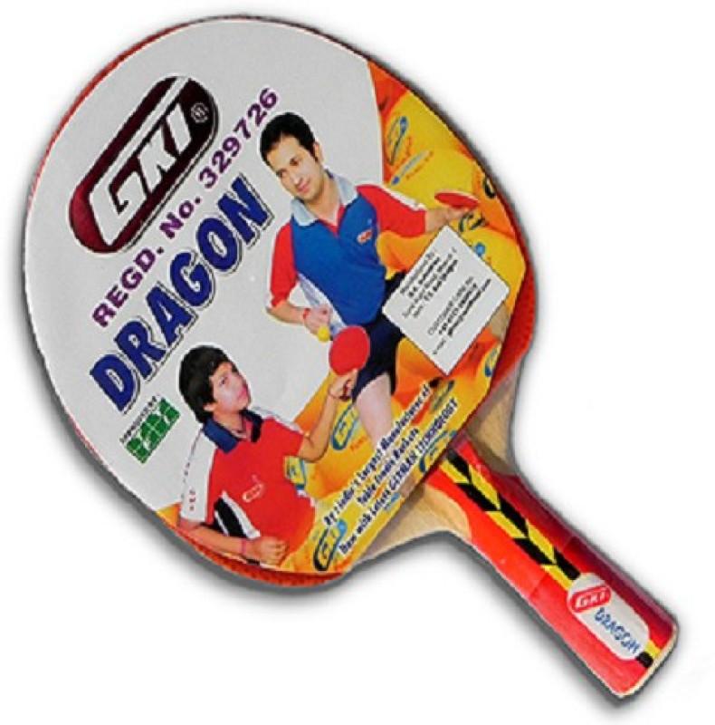 GKI Dragon Multicolor Table Tennis Racquet(80 g)