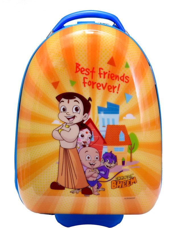 Fortune Chhota Bheem Best Friend Forever Cabin Luggage - 17 inch(Yellow)
