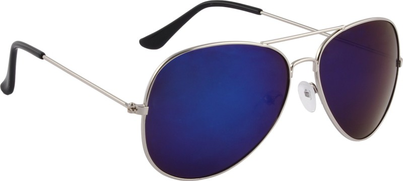 Del Impex Aviator Sunglasses(Blue) image