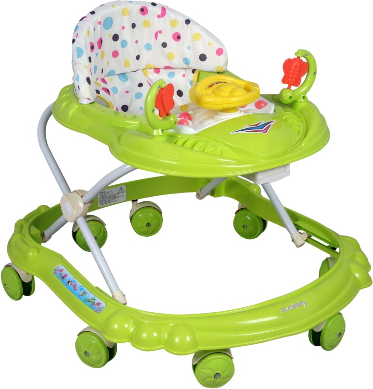 Sunbaby Musical Activity Walker(Green)